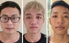 Ba thanh niên mang tuýp sắt gắn dao nhọn 'diễu hành' ngờ ngờ giữa đường