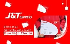 J&T Express chính thức mở tuyến vận chuyển nhanh cho đơn hàng thư từ
