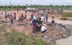 Nam thanh niên bị lũ cuốn mất tích khi qua cống tràn ở Đắk Lắk