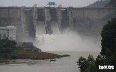 Hồ thủy điện, thủy lợi Thừa Thiên Huế đồng loạt xả lũ điều tiết