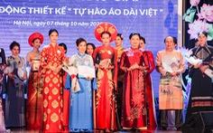 'Hoàng Thành Thăng Long' giải nhất 'Tự hào áo dài Việt'