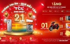 Tháng tri ân – quà bất tận từ TCL Việt Nam