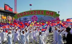 Triều Tiên tập dượt duyệt binh lớn nhất lịch sử kỷ niệm 75 năm thành lập Đảng Lao động