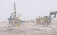 2 thuyền viên tàu Vietship 01 rơi xuống biển và 'được' sóng đánh vào bờ sau hơn nửa tiếng mất tích