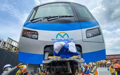 Cột mốc quan trọng tăng tốc đưa metro số 1 về đích