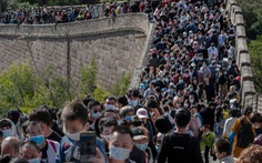 Vạn Lý Trường Thành, Bến Thượng Hải chật kín du khách bất chấp COVID-19
