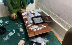 Lãnh đạo Công an Thái Bình trực tiếp đến hiện trường chỉ đạo phá án mua bán ma túy