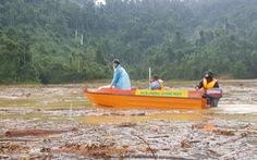 Sạt lở Trà Leng: Tìm thấy một thi thể trên sông, còn 13 người mất tích