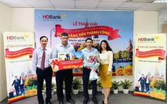 HDBank dành hơn 1,2 tỉ đồng tri ân khách hàng doanh nghiệp dịp cuối năm