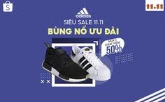 Adidas tiếp tục chuỗi ưu đãi: mua 3 giảm thêm 50%