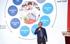 VinCommerce định hướng có hơn 300 siêu thị VinMart, gần 10.000 cửa hàng VinMart+