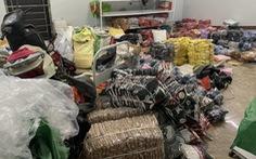 Bán hàng nhập lậu, giả nhãn hiệu Nike, Adidas... bị phạt hàng trăm triệu