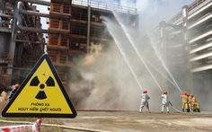 Diễn tập ứng phó sự cố hạt nhân trong Tổ hợp bôxit Tân Rai