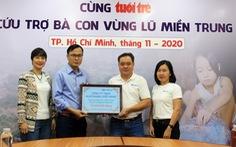 Huhtamaki Việt Nam tiếp sức đồng bào lũ lụt miền Trung