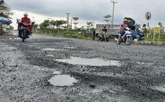 Nhiều tuyến đường miền Tây hư hỏng nặng sau mưa