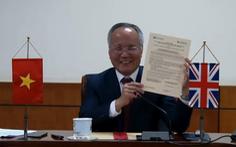 Việt - Anh ký ý định thư xây dựng kho dữ liệu thương mại