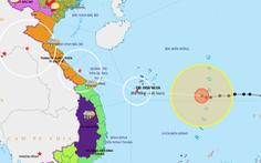 Dự báo mới nhất: Bão số 13 hướng vào Hà Tĩnh, Quảng Nam