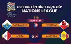 Lịch trực tiếp Nations League: Bồ Đào Nha gặp Pháp