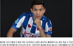 Báo chí Hàn Quốc 'tiến cử' Văn Hậu cho 'đại gia' 8 lần vô địch K-League