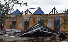 Bão số 13 làm 19 người bị thương, gần 6.000 nhà tốc mái