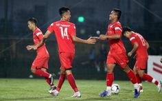 U22 Việt Nam thắng đậm U21 Nam Định 4-0, kết thúc đợt tập trung tháng 11