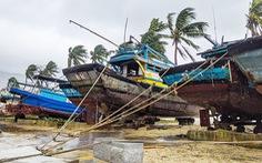 Cấm dân ra đường, hạn chế thiệt hại của bão