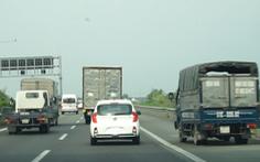 Xử phạt nguội xe vào làn dừng khẩn cấp trên đường cao tốc