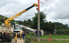 EVNNPC đề phòng sự cố lưới điện do thiên tai tại Hà Giang
