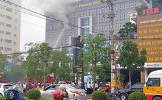 Cháy khách sạn 4 sao 8 tầng ở Vinh, khách tháo chạy lúc sáng sớm