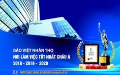 Tổng công ty Bảo Việt Nhân Thọ tuyển dụng