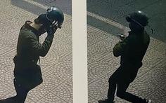 Kẻ cướp ngân hàng bịt mặt kín mít dọa: 'Đưa hết tiền đây không tao bắn'