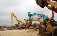Đồng loạt thi công dự án cao tốc Mai Sơn - quốc lộ 45