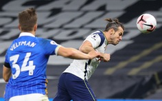 Gareth Bale 'khai hỏa', giúp Tottenham thắng Brighton