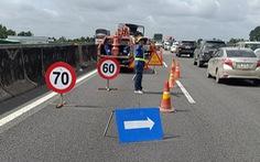 Hoàn thành sửa chữa 40 km cao tốc TP.HCM - Trung Lương