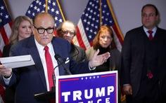 Nhóm pháp lý của ông Trump thua 3 vụ kiện ở 3 tiểu bang trong cùng ngày
