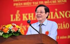 Phân hiệu Trường ĐH Nội vụ Hà Nội tại TP.HCM tăng kết nối địa phương trong bồi dưỡng cán bộ
