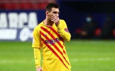 Messi 'tắt tiếng' khiến Barca bại trận và rớt xuống vị trí thứ 10