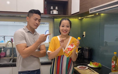 Tiết lộ chế độ ăn uống 'chuẩn lành mạnh' của gia đình Quốc Cơ - MC Hồng Phượng