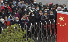 Xuất hiện ca COVID-19 trong cộng đồng, Trung Quốc xét nghiệm hàng triệu người