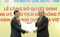Trao quyết định bổ nhiệm chủ tịch PVN cho ông Hoàng Quốc Vượng