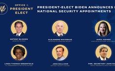 'Nội các' dự kiến của ông Biden có những người tầm cỡ nào?