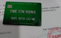 Rộ chiêu lừa phát hành thẻ tín dụng giả để chiếm đoạt tiền