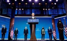 Ông Biden chính thức bắt đầu chống COVID-19, hứa đưa nước Mỹ 'lãnh đạo thế giới'