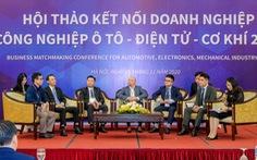Tăng kết nối doanh nghiệp ôtô, điện tử, cơ khí vào chuỗi cung ứng