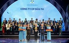 Tập đoàn TH tiếp tục được vinh danh thương hiệu quốc gia