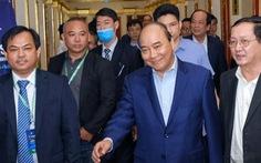 Thủ tướng Nguyễn Xuân Phúc đối thoại với thanh niên khởi nghiệp