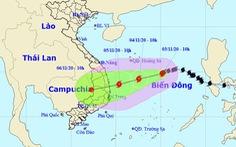 Bão số 10 tăng cấp trở lại khi đến gần Quảng Ngãi - Khánh Hòa, vì sao?