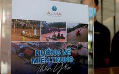 Người dân vùng lũ Quảng Trị nhận quà cứu trợ từ Quỹ HOPE và Công ty Vịnh Thiên Đường