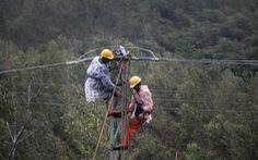 Vẫn còn 97 xã ở 3 tỉnh miền Trung mất điện do bão số 9