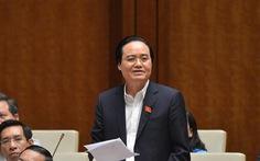 Bộ trưởng Phùng Xuân Nhạ giải thích giá sách lớp 1 mới gấp đôi bộ cũ ra sao?